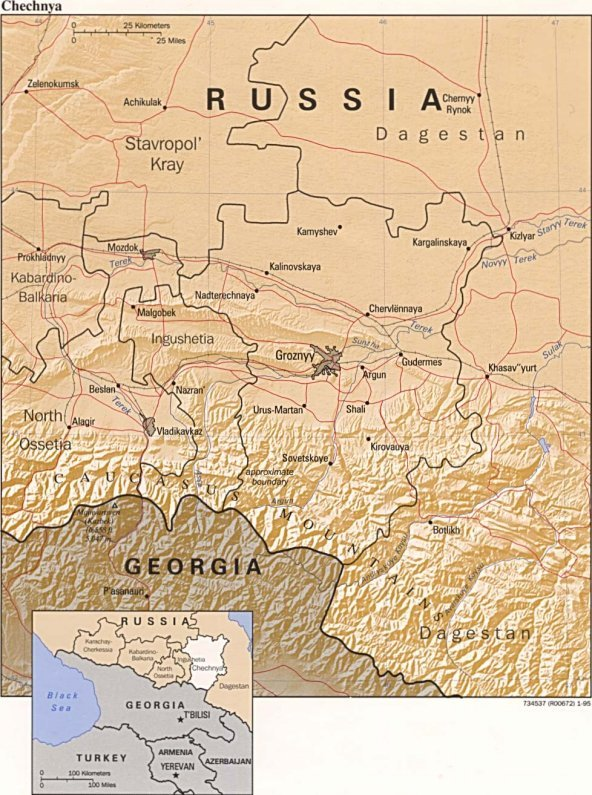 Chechnya Map on azerbaijan map, armenia map, serbia map, russia map, north korea map, second chechen war, ramzan kadyrov, slovenia map, shamil basayev, caucasus map, beslan school hostage crisis, pakistan map, chechen people, kyrgyzstan map, novaya zemlya map, kalmykia map, uzbekistan map, saint petersburg, first chechen war, dagestan map, caucasus mountains, grozny map, siberia map, slovakia map, moscow map, ukraine map, europe map, north caucasus, georgia map, moscow theater hostage crisis,